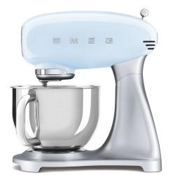 Robot pâtissier sur socle Smeg Années'50 SMF02PBEU Bleu pastel