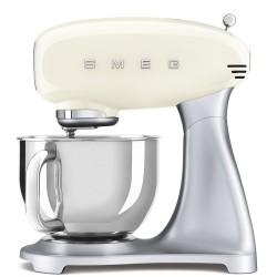 Robot pâtissier sur socle Smeg Années'50 SMF02CREU Crème