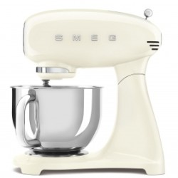 Robot pâtissier sur socle Smeg Années'50 SMF03CREU Full Crème