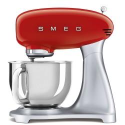Robot pâtissier sur socle Smeg Années'50 SMF02RDEU Rouge