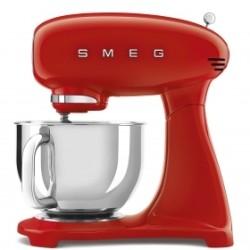 Robot pâtissier sur socle Smeg Années'50 SMF03RDEU Full Rouge