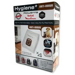 Sac aspirateur Rowenta Hygiene+ Anti-odeur ZR200720