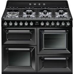 Centre de cuisson mixte Victoria Smeg TR4110BL1 Noir Gaz