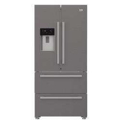 Réfrigérateur américain Beko GNE60530DXN No Frost eau