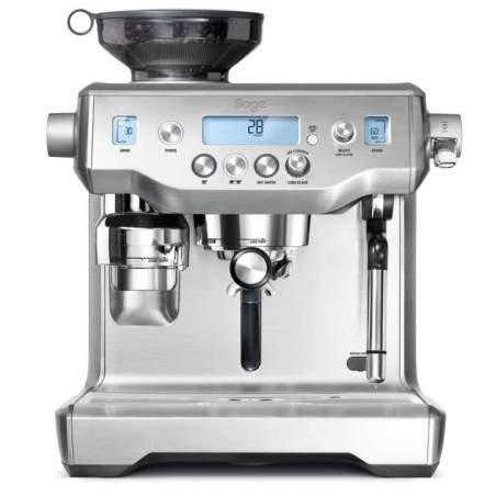 Machine à cafe Espresso Manuelle Sage SES980BSS4 Oracle