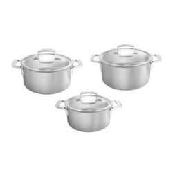 Set de casserole 3 pièces Demeyere Intense5 Set40303 18, 20 et 24