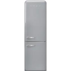 Réfrigérateur Combiné Smeg Années'50 FAB32RSV5 Gris Métallique