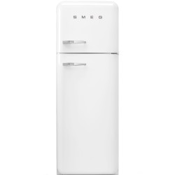 Réfrigérateur Combiné Smeg Années'50 FAB30RWH5 Blanc