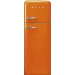 Réfrigérateur Combiné Smeg Années'50 FAB30ROR5 Orange