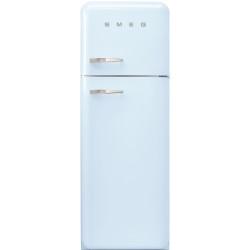 Réfrigérateur Combiné Smeg Année'50 FAB30RPB5 Bleu Pastel