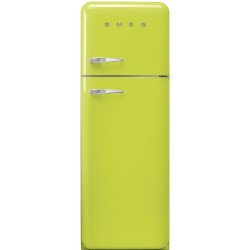 Réfrigérateur Combiné Smeg Années'50 FAB30RLI5 Citron vert