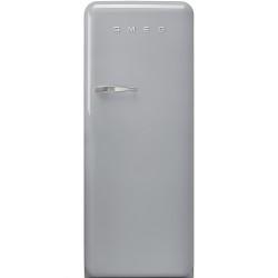 Réfrigérateur Armoire Smeg Années'50 FAB28RSV5 Gris métallique