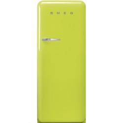 Réfrigérateur Armoire Smeg Années'50 FAB28RLI5 Citron vert