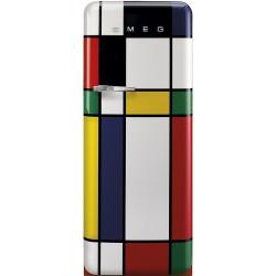 Réfrigérateur Armoire Smeg Années'50 FAB28RDMC5 Multicolore