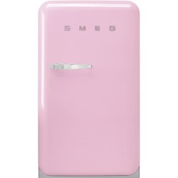 Réfrigérateur de table Smeg Années'50 FAB10RPK5 Rose