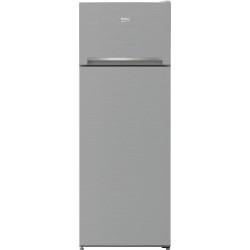Réfrigérateur combi Top Beko RDSA240K30XBN Titanium Inox 146.5 cm