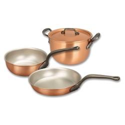 Set de casseroles en cuivre Falk Classique SET-BASIC-CLASS