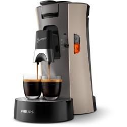 Machine à café Senseo Select Philips CSA240/30 Nougat Brun