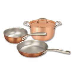 Set de casseroles en cuivre Falk Signature SET-BASIC-SIGN