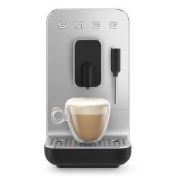 Machine à café automatique Smeg Bean to cup BCC02BLMEU Noir Mat