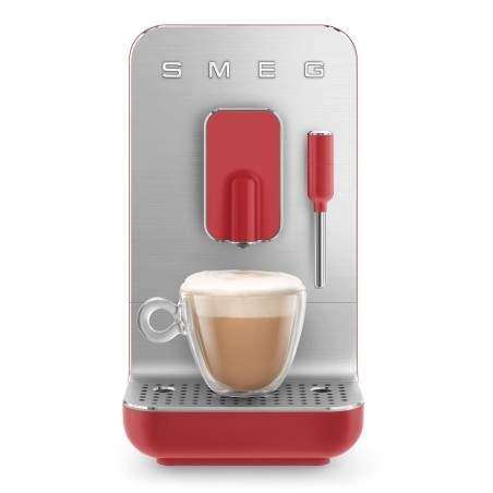 Machine à café automatique Smeg Bean to cup BCC002RDMEU Rouge Mat