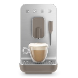 Machine à café automatique Smeg Bean to cup BCC002TPMEU Taupe Mat