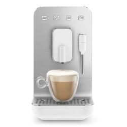 Machine à café automatique Smeg Bean to cup BCC02WHMEU Blanc Mat