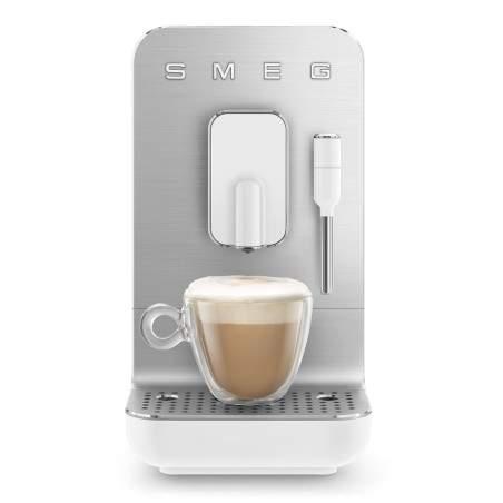 Machine à café automatique Smeg Bean to cup BCC002WHMEU Blanc Mat