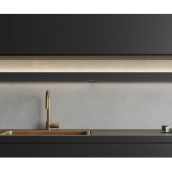 Eclairage Wall Jansen - De Bont 6611-2324 - 1209 mm - 24 W Noir