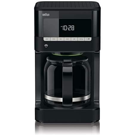 Cafetière électrique programmable Braun KF7020 PurAroma 7 Noir