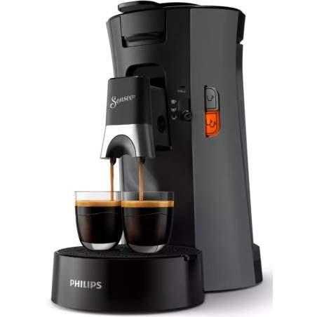 Machine à café Senseo Select Philips CSA230/50 Gris Foncé