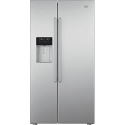 Réfrigérateur Américain Beko Inox GN162330X 2 portes