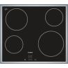 Taque de cuisson vitrocéramique Bosch HighSpeed PKE645D17 60cm