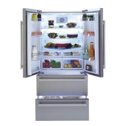 Réfrigérateur Américain Inox No Frost Beko GNE60530X A++