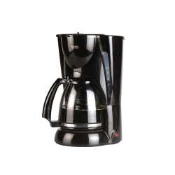 Percolateur Domo DO470K 1.8L 1050W verseuse en verre Noir