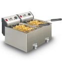 Friteuse SF4920 professionnelle Turbo double Fritel