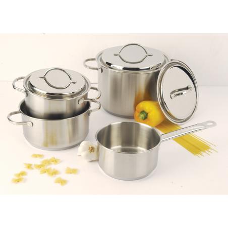 Set de casseroles et poêlon Demeyere 7 pièces Resto SET88017