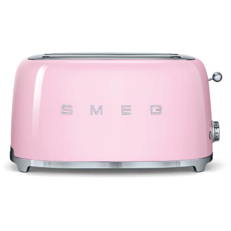 Grille-pain SMEG Années'50 TSF02PKEU Rose