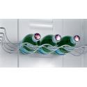 Réfrigérateur combiné Siemens KG36VVW32 A++ LowFrost 186 Blanc