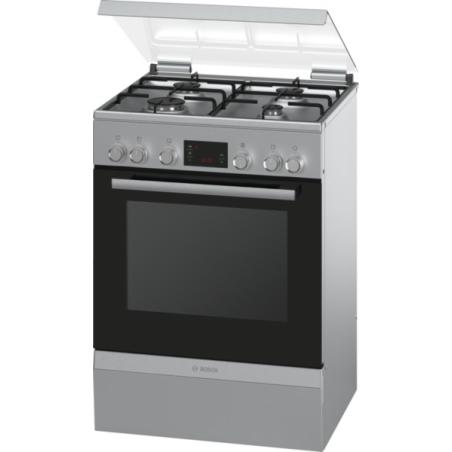 Cuisinière Mixte Bosch HGD745250 Serie 4 Inox Classe A