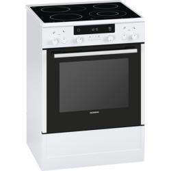 Cuisinière électrique vitrocéramique Siemens HA744220 IQ300 Blanc