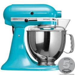 Robot sur socle Artisan Kitchen Aid 5KSM150PSECL4 Bleu Lagon
