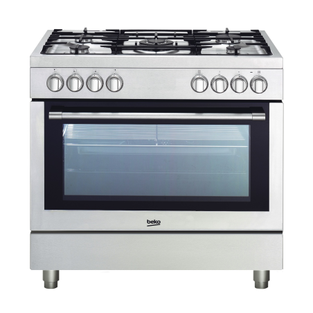 Cuisinière mixte BEKO GM15120DXPR Inox 90cm 115261 A