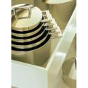 Casserole avec couvercle Demeyere John Pawson 71322 22cm 4l