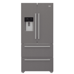 Réfrigérateur Américain avec Distributeur BEKO GNE60530DX