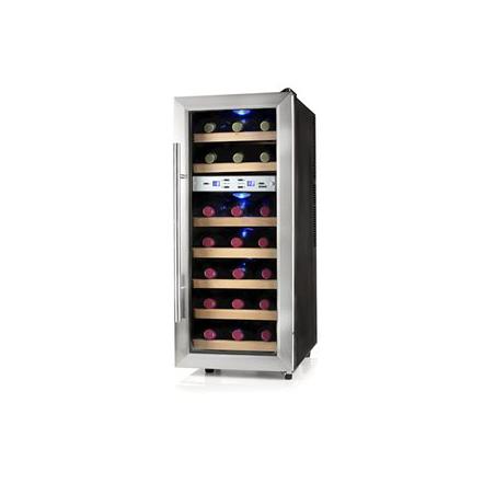 Cave à vin Domo DO911WK 21 bouteilles 2 zones T°C