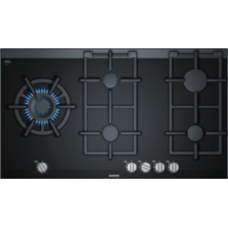 Taque de cuisson gaz en verre Siemens ER9A6SD70