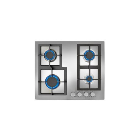 Taque de cuisson au gaz TEKA EFX604GAIAL 60cm inox