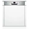 Lave-vaisselle Bosch intégrable 60cm SMI63M95EU bandeau inox A+++
