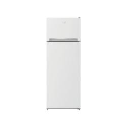 Réfrigérateur combiné top Beko RDSA240K30W A++ 145.5cm